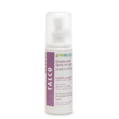 Green Natural Deodorante Spray Talco - 100 ml
