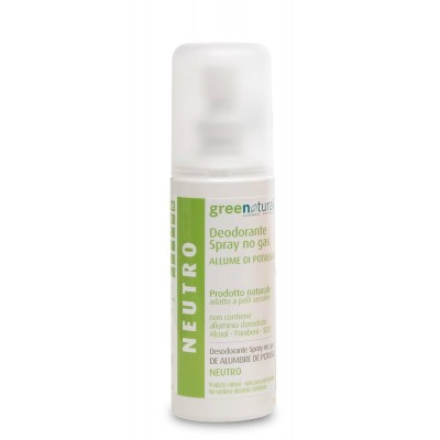 Green Natural Deodorante Spray Neutro - 100 ml