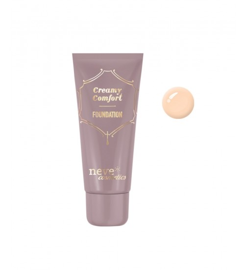 Neve Cosmetics Fondotinta Creamy Comfort Light Neutral