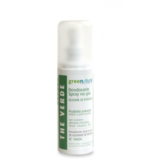 Green Natural Deodorante Spray The Verde - 100 ml