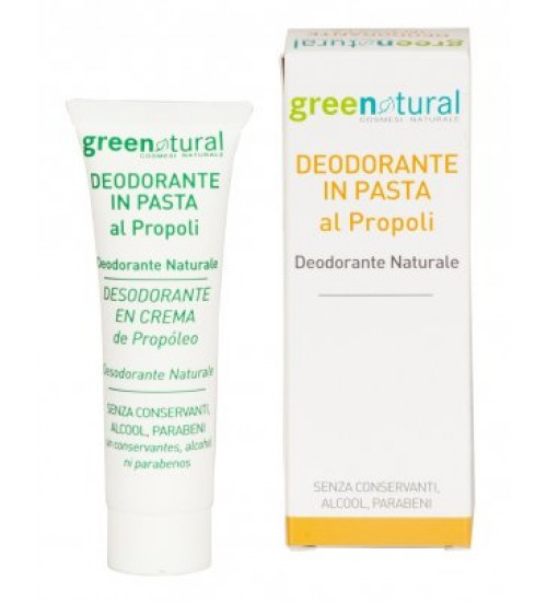 Green Natural Deodorante in pasta al Propoli - 30ml