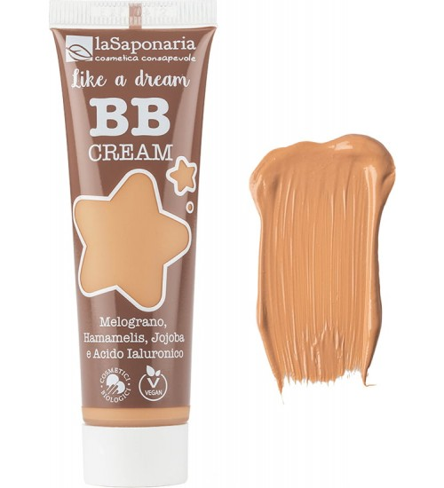 La Saponaria BB Cream Like a Dream - 4 Beige 30ml
