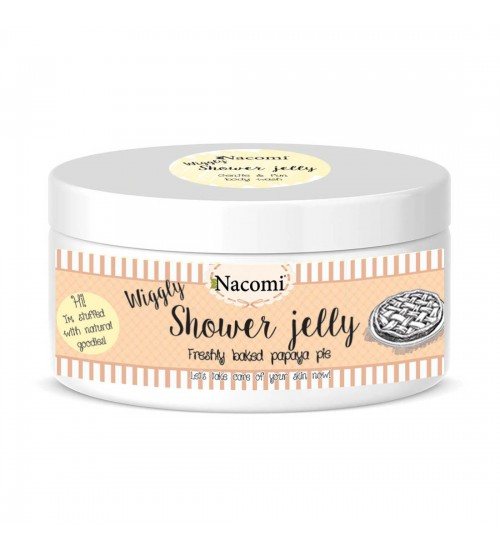 Nacomi Shower Jelly Freshly Baked Papaya Eye 100gr