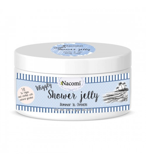 Nacomi Shower Jelly Summer in Greece 100gr