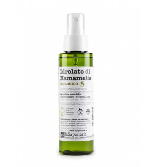 La Saponaria Idrolato di Hamamelis Spray Bio 100ml