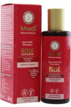 Khadi Shampoo Hair repair Rosa 210ml