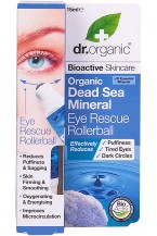 Dr Organic Dead Sea Minerals Contorno Occhi roll-on 15ml