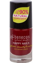 Benecos Smalto unghie - Cherry Red 5ml