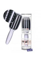 Tangle Teezer Smoothing Tool - Black Half