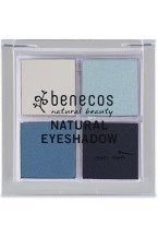 Benecos Palette Ombretto 4 colori - True Blue