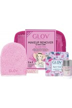 Glov Set Travel Pink all Skin Types