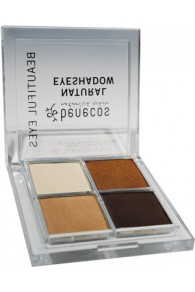 Benecos Quattro Eyeshadow - Coffee & Cream