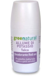 Green Natural Deodorante Roll-on Talco - 75 ml