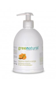 Green Natural Detergente delicato mani e corpo - 500ml