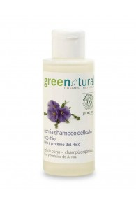Green Natural Docciashampoo Lino e Riso - 100 ml