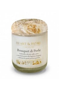 Heart & Home Bouquet di Perle - Large Candle