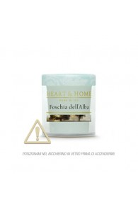 Heart & Home Foschia dell'Alba - Candelina 53gr