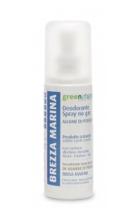 Green Natural Deodorante Spray Brezza Marina - 100 ml