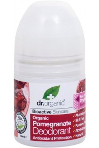 Dr Organic Pomegranate Deodorante 50ml