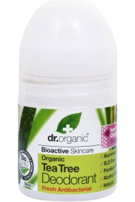 Dr Organic Tea Tree Deodorante 50ml