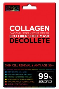 Beauty Face Maschera Decolletè Booster Fibra di Banano - RINNOVAMENTO CELLULARE ANTIETA' COLLAGENE